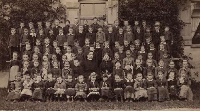 Klassenfoto 1883